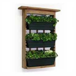 Vertical Garden Design With Gazebo Installation Vertical Living Wall Planter from Algreen