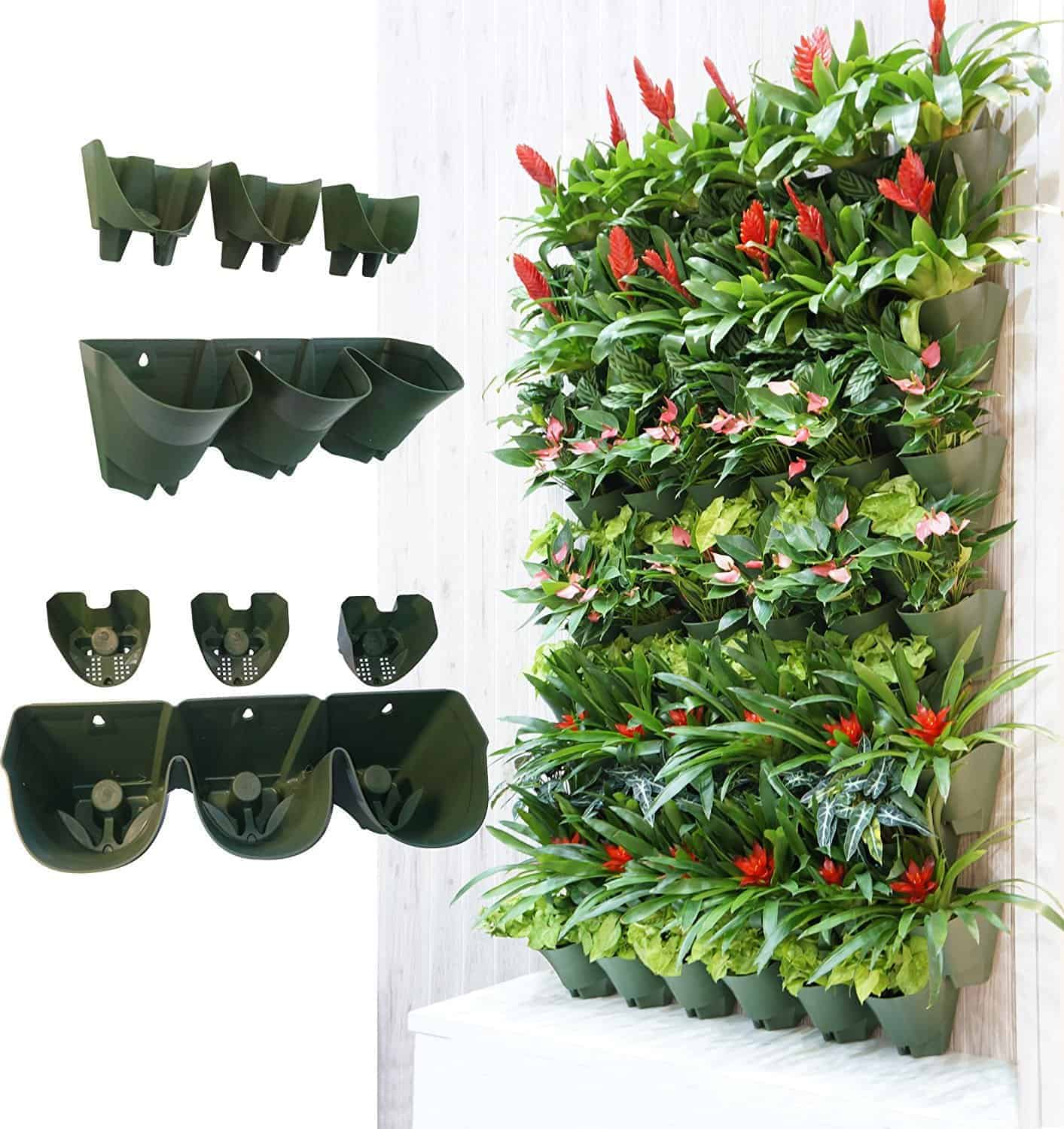 Self Watering Succulent Vertical Wall Planter From Worth
