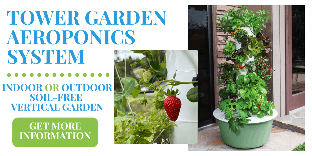 tower garden, aeroponic growing system