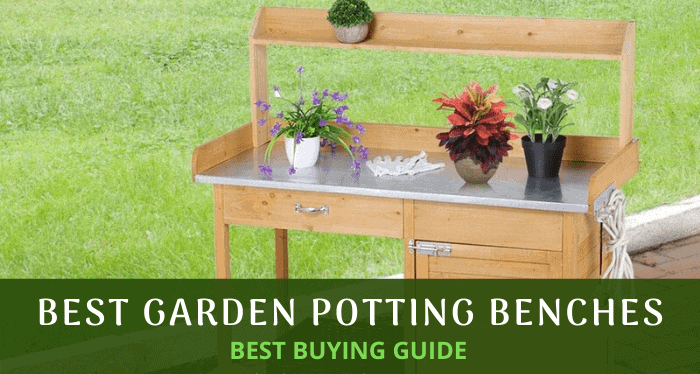 Potting Benches for Outdoor Planting