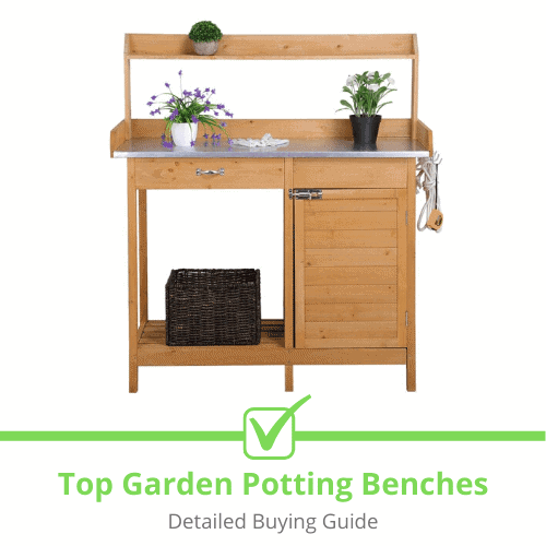 Top Garden Potting Benches